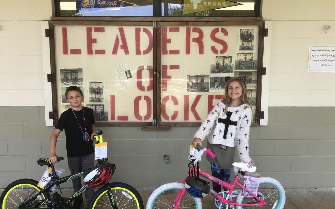 Leaders of Locke winners
